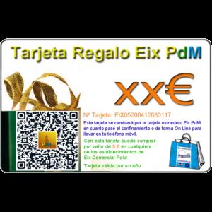 Tarjetas Regalo Eix Comercial PdM