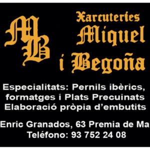 Xarcuteria Miquel i Begoña