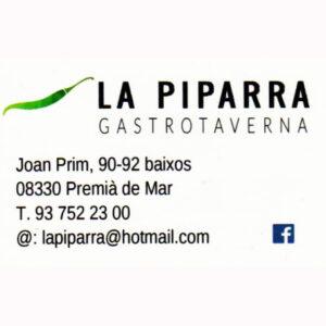 Bar - La Piparra Restauració
